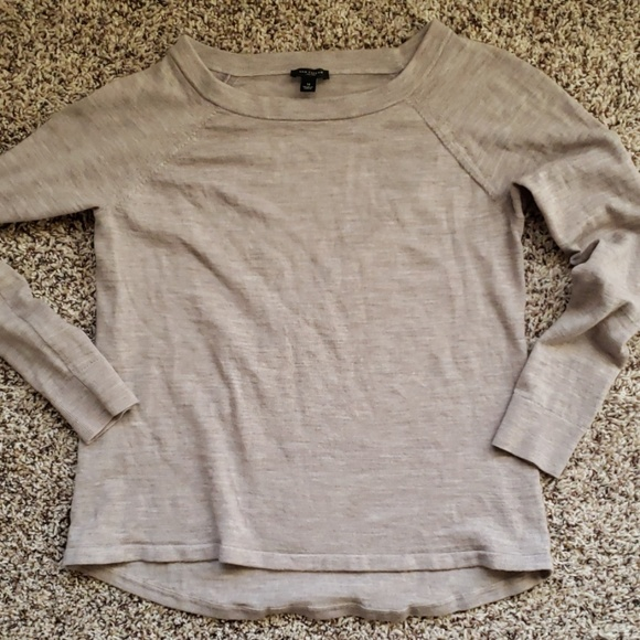 Ann Taylor Sweaters - Ann Taylor brown merino wool sweater